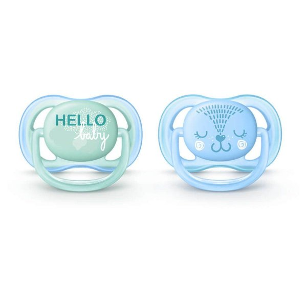 Kit de Chupetas Ultra Air - Cat - 0 a 6 Meses - Philips Avent