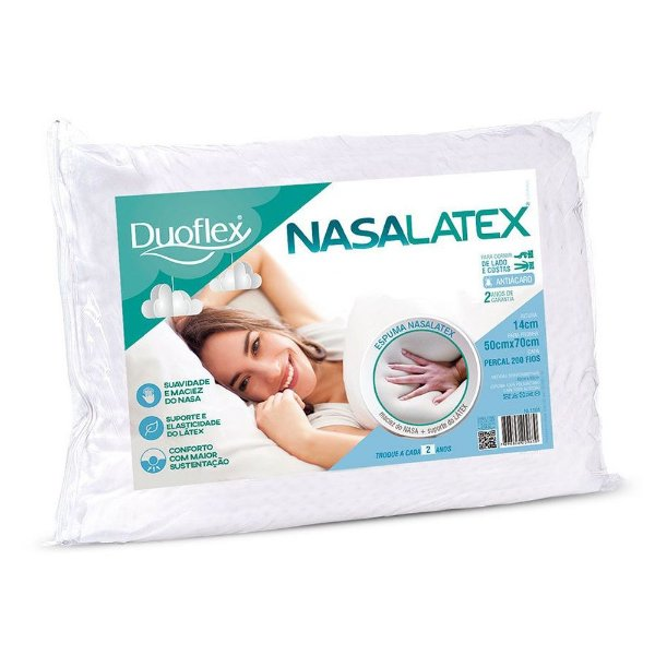 Travesseiro Nasalatex  - Duoflex