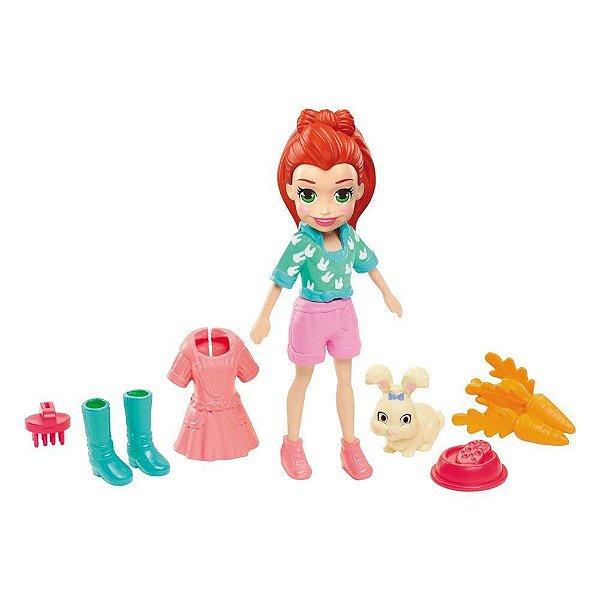 Kit Polly Pocket - Lila Com Bichinho - Mattel