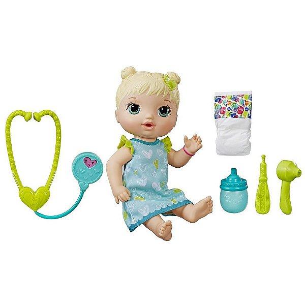 Boneca Baby Alive Loira - Cuida de Mim - Habro