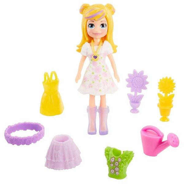 Kit Polly Pocket - Polly Floral - Mattel