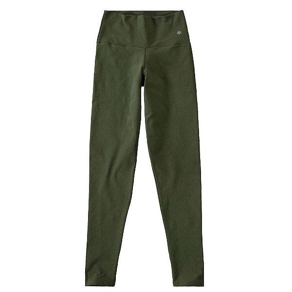Calça Legging Básica Suplex Feminina Verde - Malwee