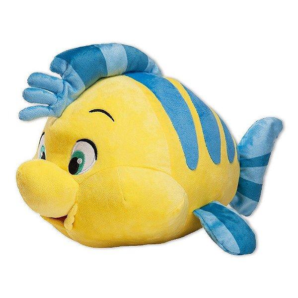 Pelúcia Disney Linguado 35 cm Fun - Pequena Sereia - Barão Toys