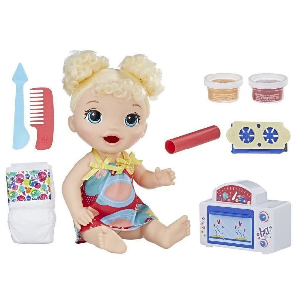 Baby Alive Super Snacks Meu Primeiro Forninho - Hasbro