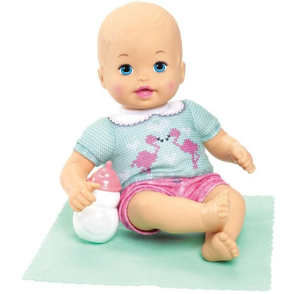Boneca Little Mommy - Recem Nascida Verde - Mattel