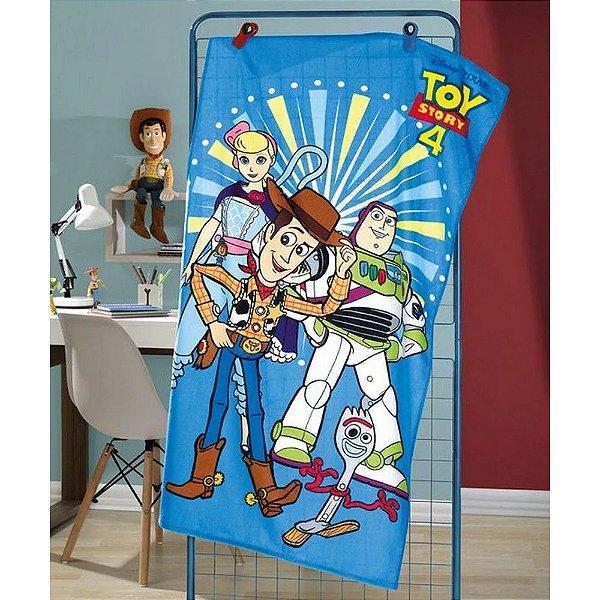 Toalha de Banho Aveludada - Toy Story 4 - Döhler