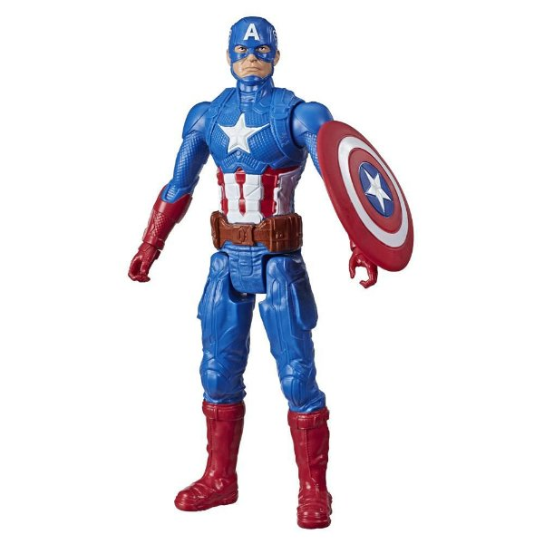 Boneco Captain America - Titan Hero Series - Hasbro