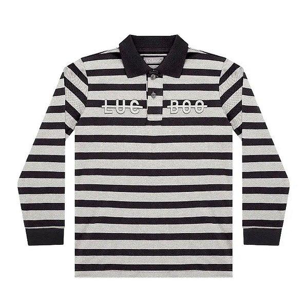 Camiseta a Polo Masculina - Luc.Boo