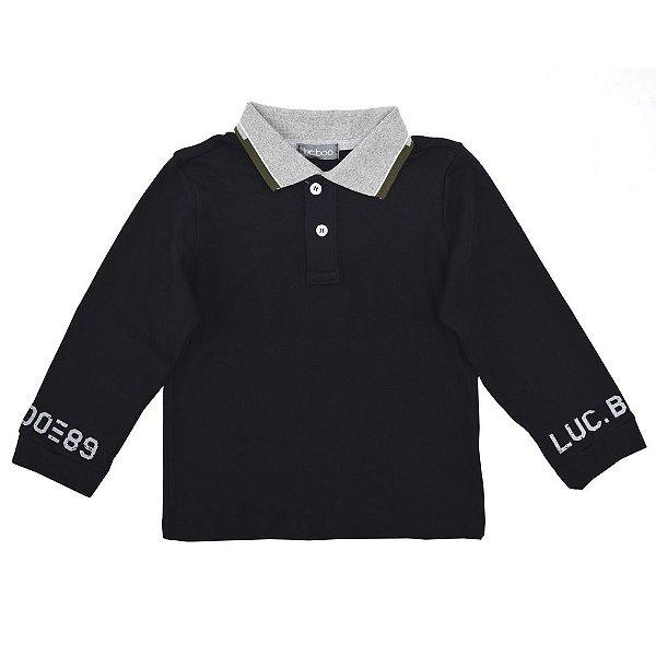 Camisa Polo Manga Longa - Luc.Boo
