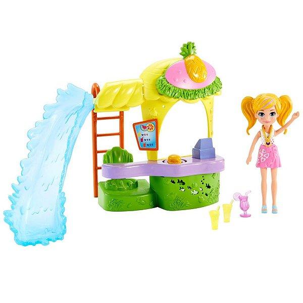 Polly Pocket - Quiosque Parque de Abacaxi - Mattel