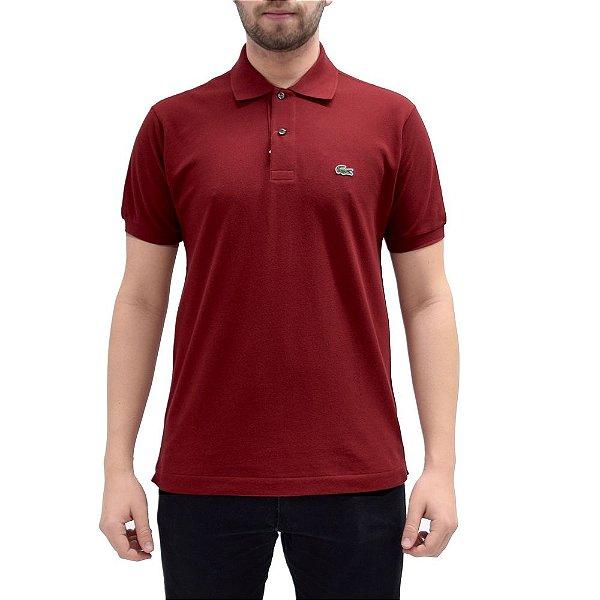 Camisa Polo Lacoste - Vermelho Passion