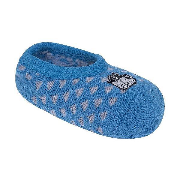 Meia Sapatilha Baleia - Azul - Pimpolho