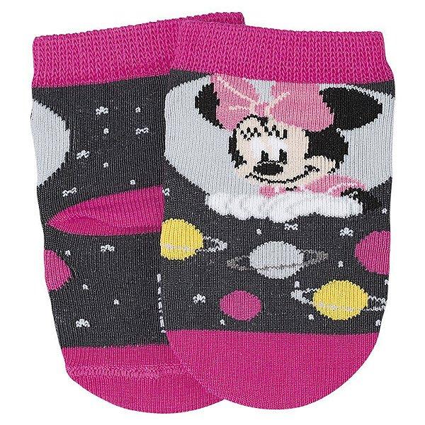 Meia Disney Baby Minnie - Rosa - Lupo