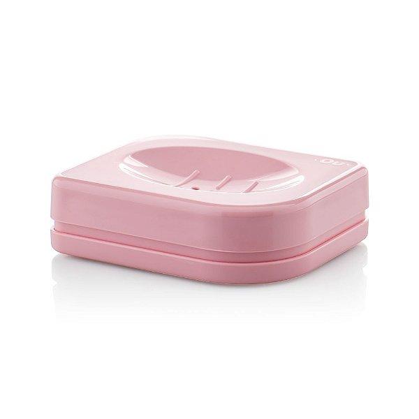 Saboneteira Pétala - Rosa Quartz - Ou