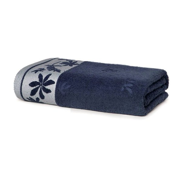 Toalha de Rosto Maria Le Bain - Azul Marinho 6526 - Artex