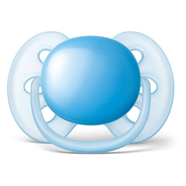 Chupeta Ultra Soft - 6 à 18 Meses - Azul - Philips Avent
