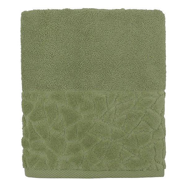 Toalha de Rosto Jacquard Confort - Verde Musgo 11436 - Döhler
