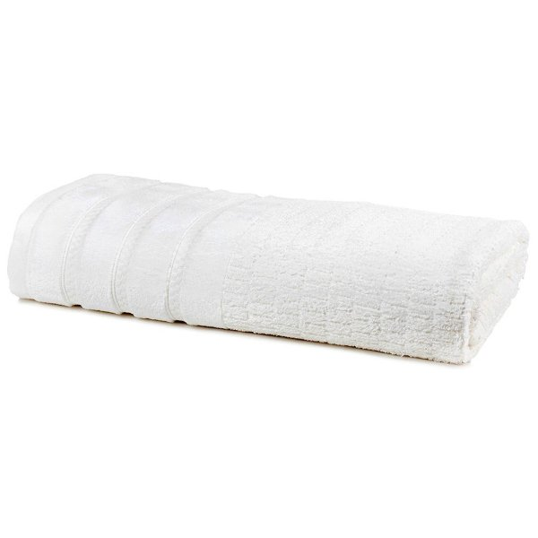 Toalha de Banho Unique Mineral - Branco 0001 - Santista