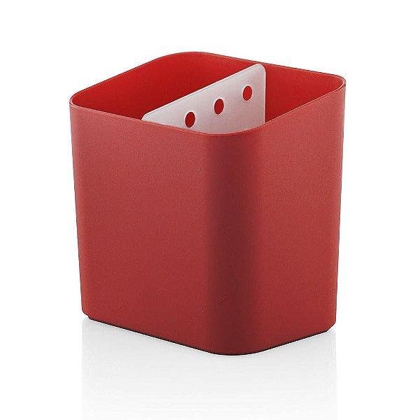 Escorredor de Talheres Trium - Vermelho - Ou