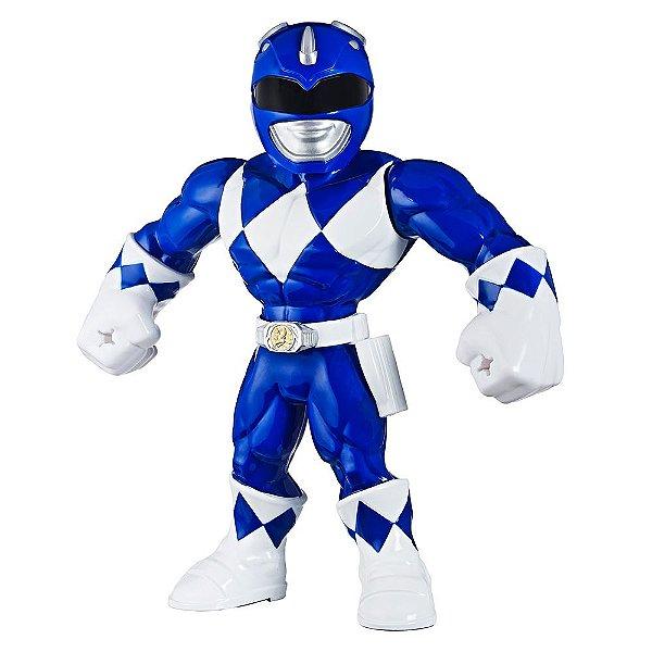 Boneco Blue Ranger Power Rangers - Mega Mighties - Hasbro