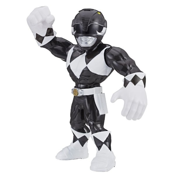 Boneco Black Ranger Power Rangers - Mega Mighties - Hasbro