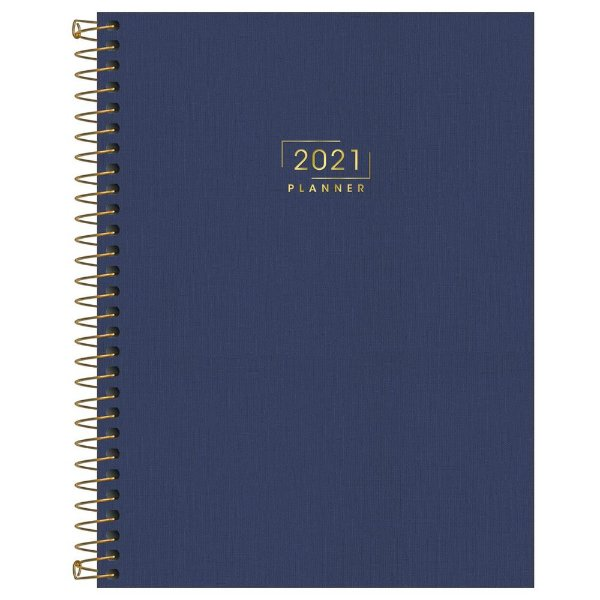 Agenda Planner Lume 2021 - Azul - Tilibra