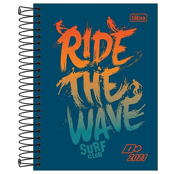 Agenda Diária D+ 2021 - Ride The Wave - Tilibra