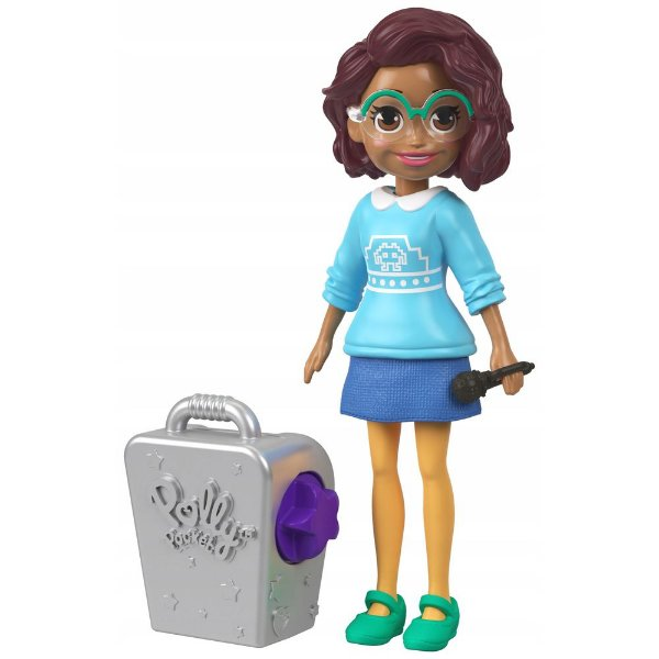 Kit Polly Pocket Rainha do Karaoke - Shani - Mattel