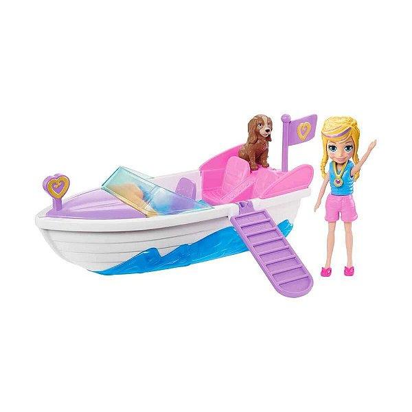 Polly Pocket - Aventura em Lancha - Mattel