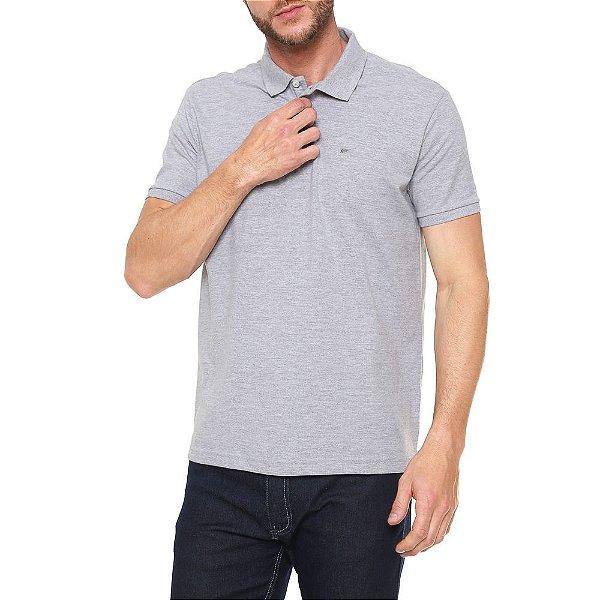 Camisa Polo Clássica - Cinza - Ellus