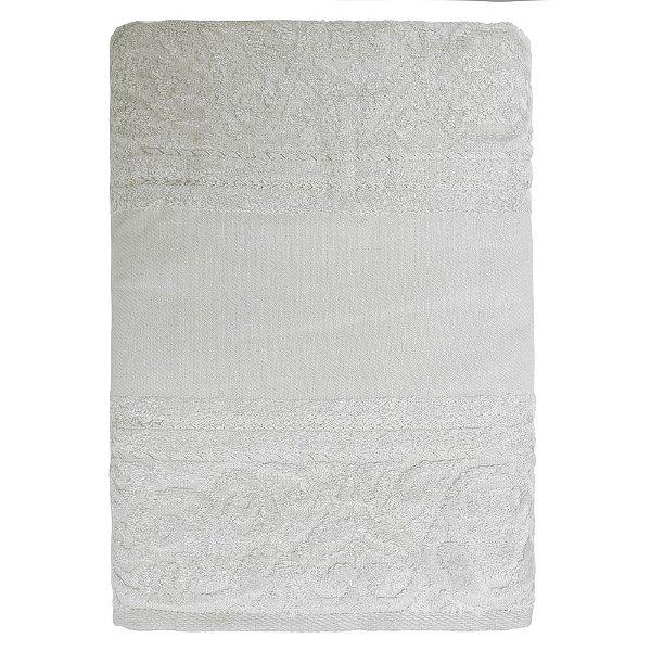 Toalha de Banho para Pintar Softart - Cinza 11467- Döhler