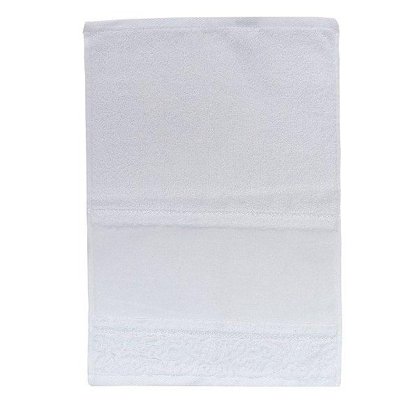 Toalha Lavabo para Pintar Softart - Branco - Döhler