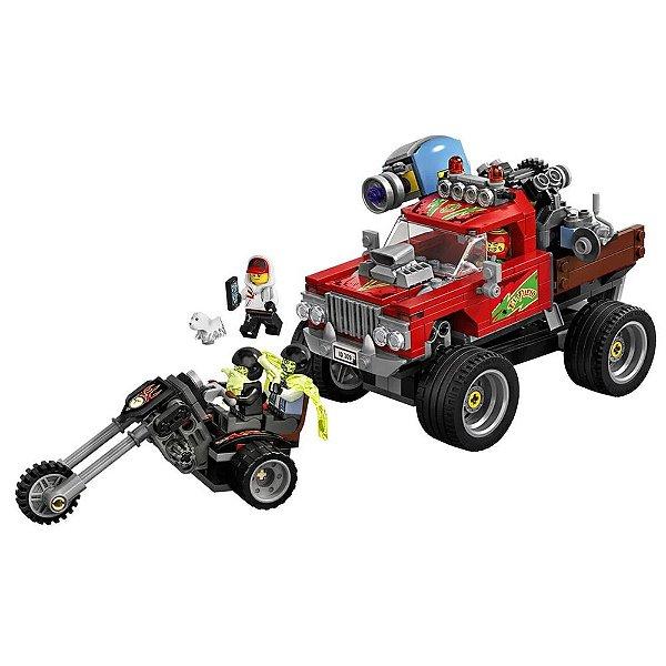 Lego Hidden Side - Caminhão de Acrobacias do El Fuego - Lego