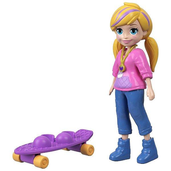 Kit Polly Pocket Skatista - Polly - Mattel