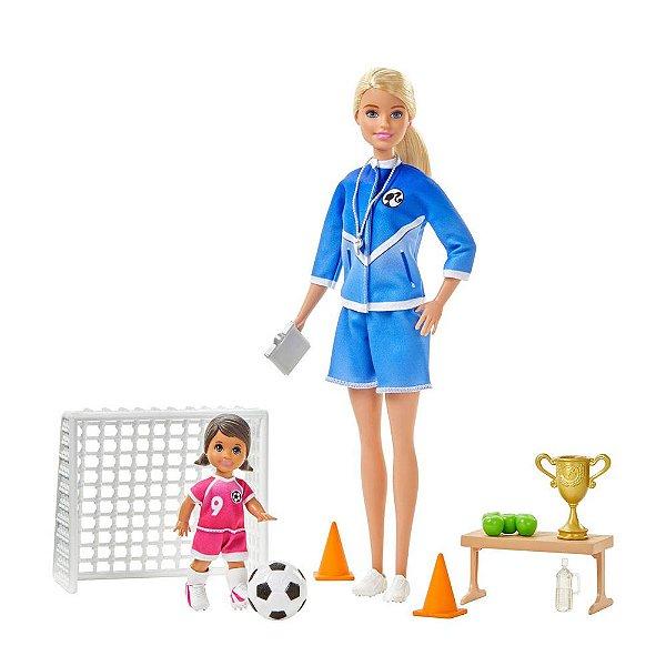 Barbie Treinadora de Futebol - Mattel