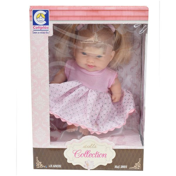 Boneca Dolls Collection - Juju - Cotiplás