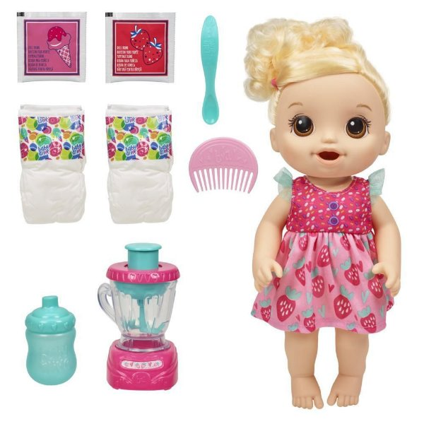 Boneca Baby Alive Misturinha - Loira - Hasbro