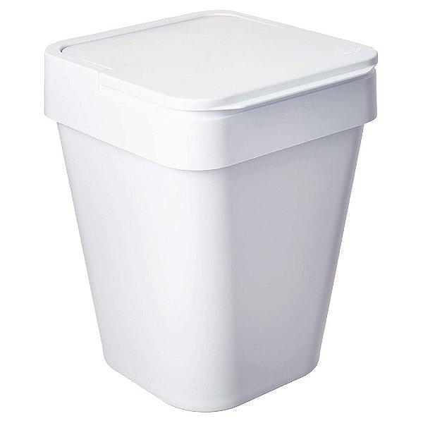 Lixeira Izzy 10L - Branco - Ou