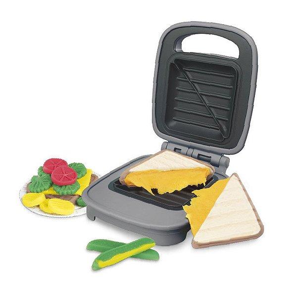 Massinha Play Doh Kitchen - Sanduiche de Queijo Elastix - Hasbro