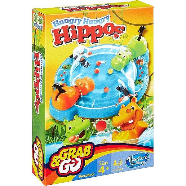 Jogo Hipopótamos Comilões - Grab&Go - Hasbro
