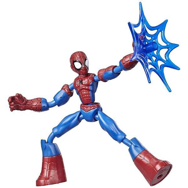 Boneco Bend And Flex - Homem Aranha - Hasbro