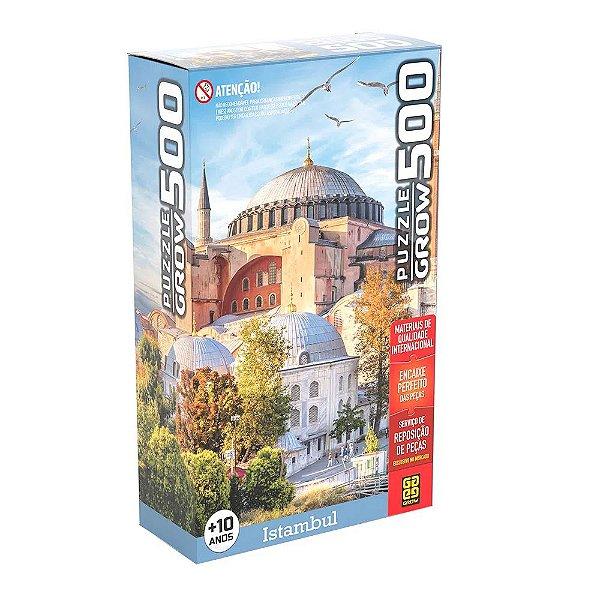 Quebra-Cabeça - Istambul - 500 Peças - Grow