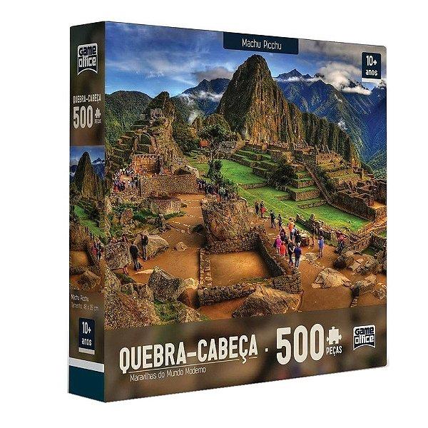 Quebra-cabeça Machu Picchu - 500 peças - Toyster
