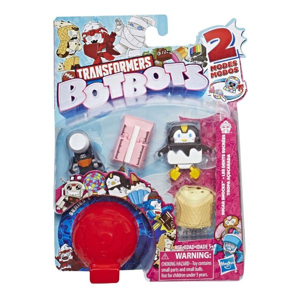 Transformers Botbots Fase 1 - Tropa Açucarada - Pinguim - Hasbro
