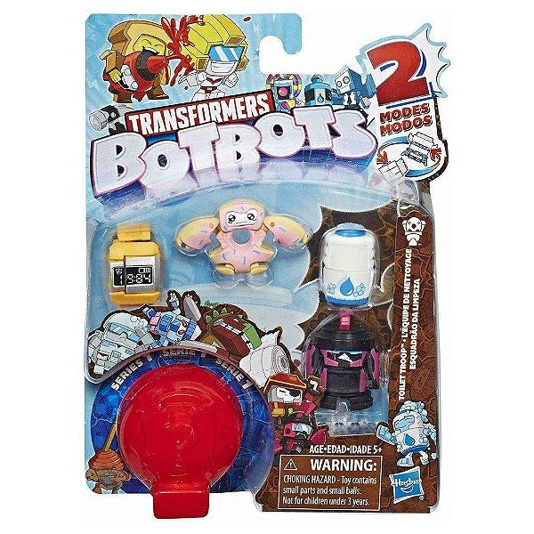 Transformers Botbots Fase 1 - Esquadrão da Limpeza - Relógio - Hasbro