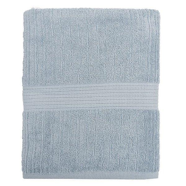 Toalha de Banho Gigante Canelada Fio Penteado - Azul Claro 1212 - Buddemeyer