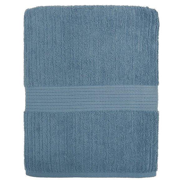 Toalha de Banho Canelada Fio Penteado - Azul 1659 - Buddemeyer