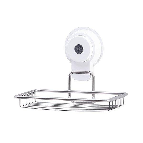 Saboneteira Com Ventosa Pratic Fix - Paramount