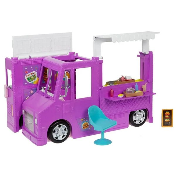 Barbie Veículo Food Truck - Mattel