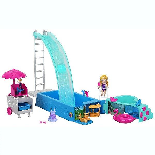 Polly Pocket - Piscina Surpresa - Mattel